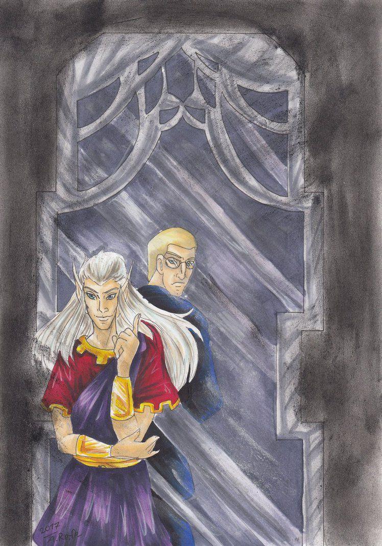 Gargoyles The secret of the mirror by WaldelfLarian