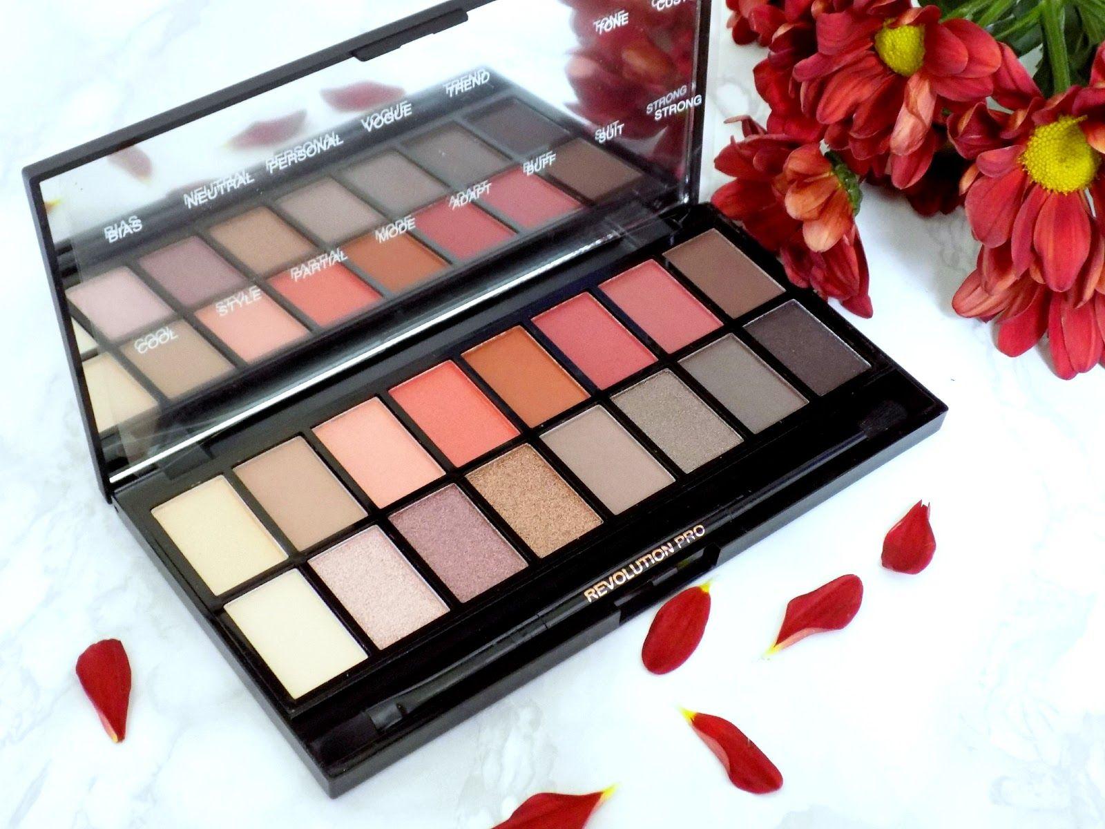 Makeup Revolution 'NewTrals vs Neutrals' palette review