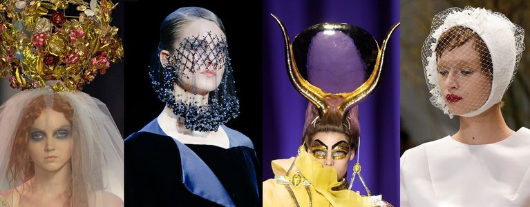 Hat Trick: A Brief History of the Haute Couture Headpiece