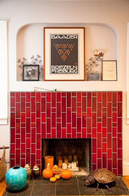 10 Ideas For A Fireplace Facelift Fireplace Tile Heath Tile Fireplace