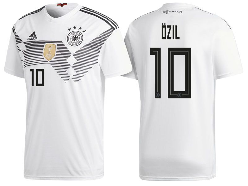 27a7ecf0c Germany 2018 World Cup Home Jersey mesut ozil