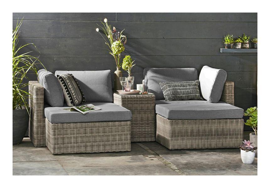 Salon De Jardin Jade Degrade Gris Fonce Outdoor Furniture Sets