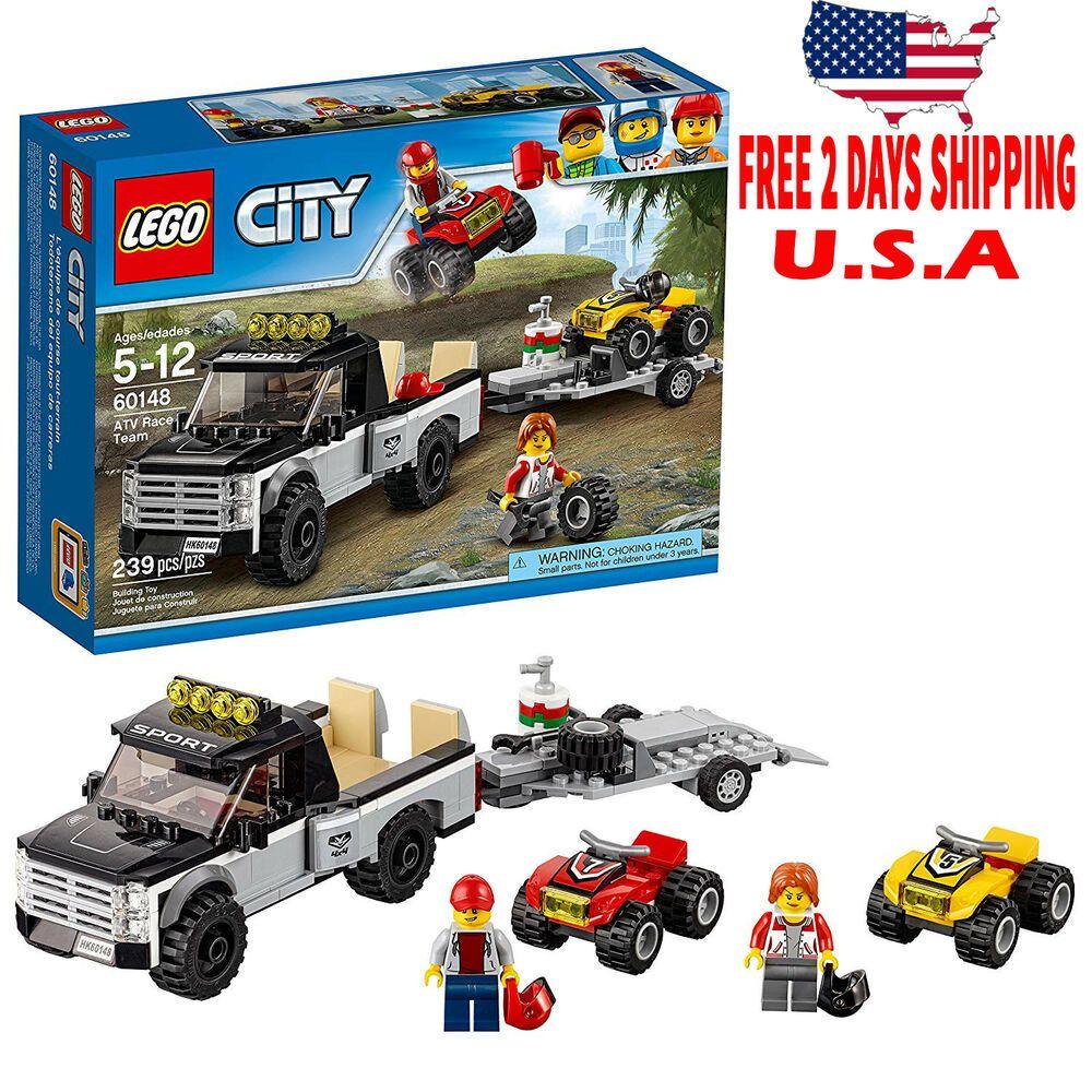 Lego city atv race team 60148 best toy usa tow days free