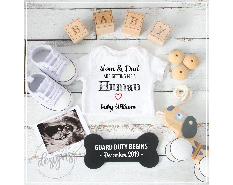 Pregnancy Reveal Surprise Announcement Baby Custom Wood Treasure Box Photography