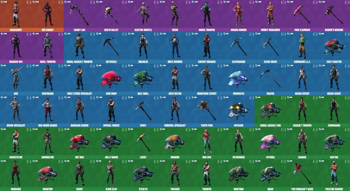 fortnite free skins without twitch