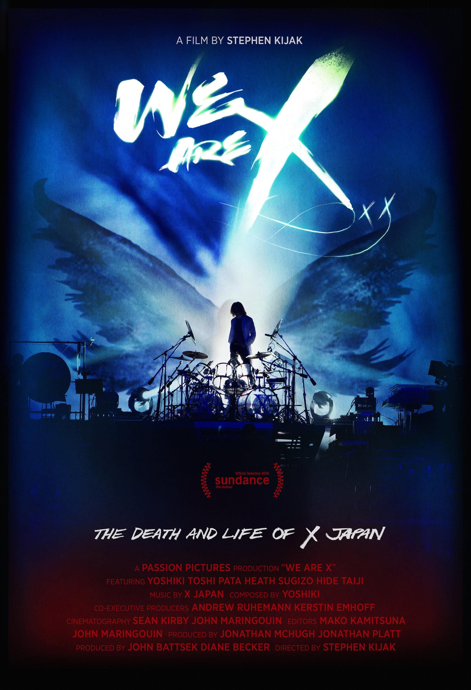 X Japan的死與生 (WE ARE X) Movies online, Documentaries, Hd
