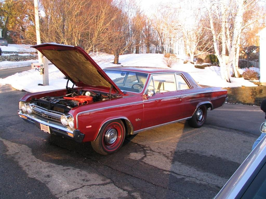 1964 Oldsmobile 442 B09 - 442 Police Pursuit Package