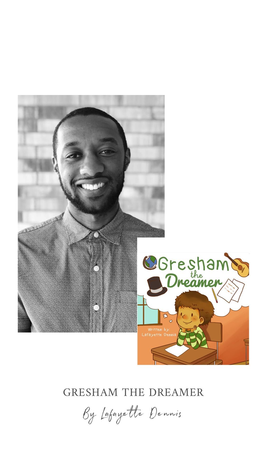 Gresham The Dreamer, the children's book that every grown up should read