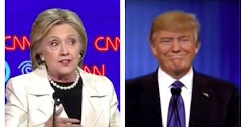 Trump leads Clinton ahead of first debate