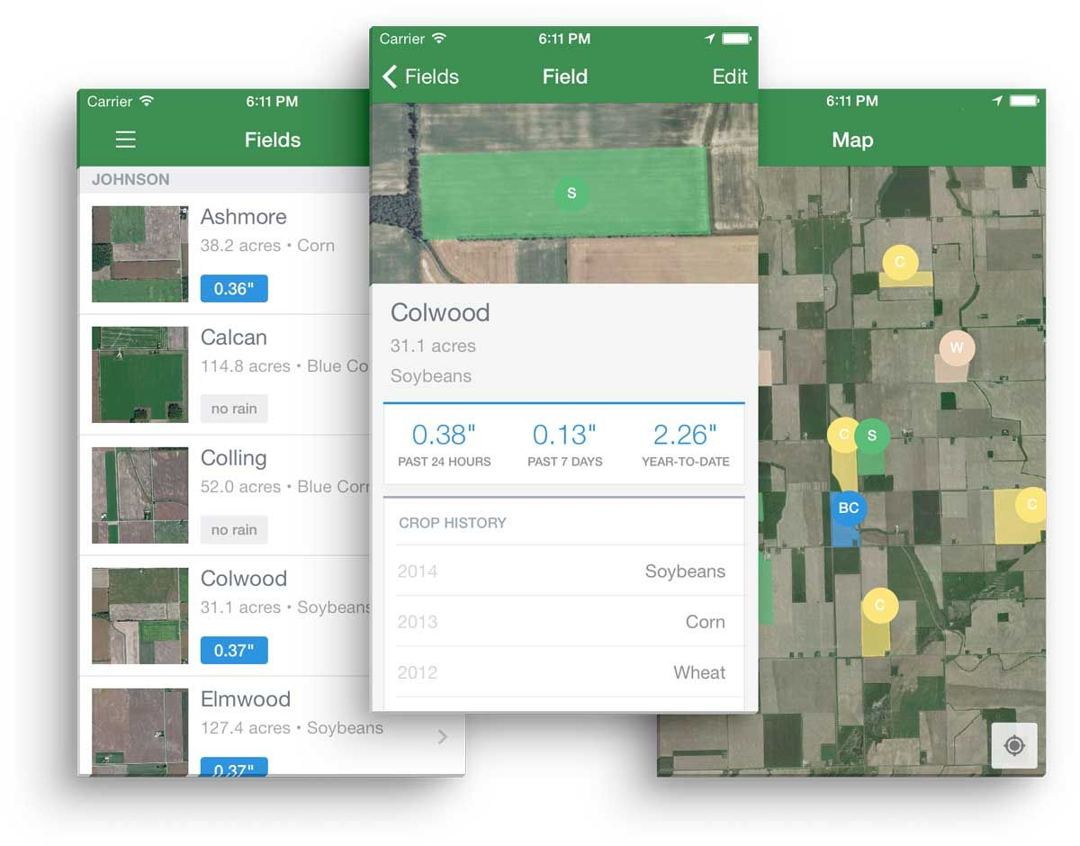 FarmLogs: an app to quantify farming by tracking crops and