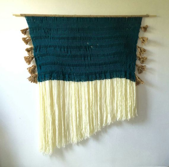 X-LARGE - Handmade Hairpin Lace Crochet Wall Hanging | Woven Wall ...