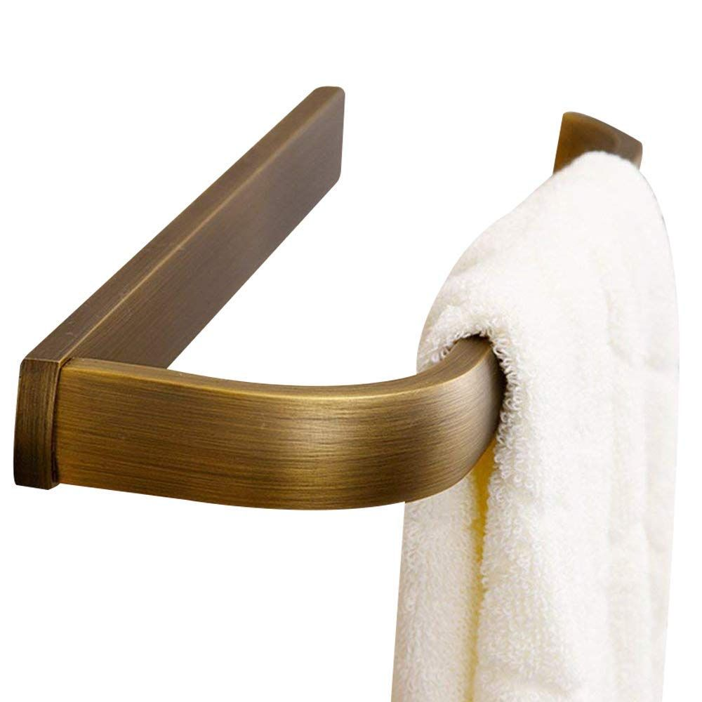 Amazon Com Leyden Retro Bathroom Accessories Solid Brass Antique Brass Finished Towel Ring Towel Hol Retro Bathrooms Bathroom Accessories Hand Towels Bathroom