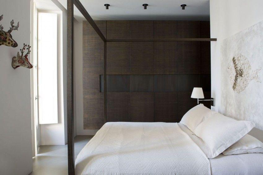 Warme tinten in een strakke Italiaanse slaapkamer - deco | Pinterest ...