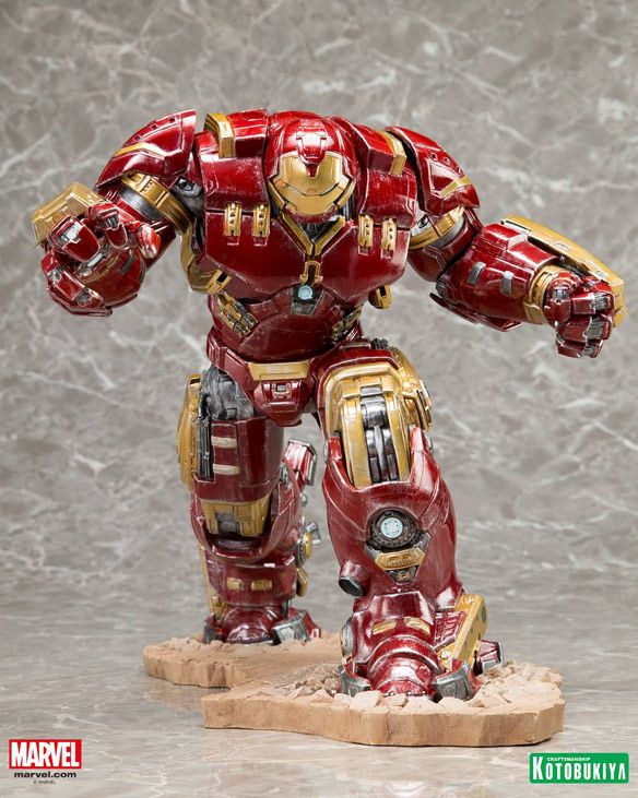 Avengers Age of Ultron Hulk Buster Iron Man Mark 44 ArtFX