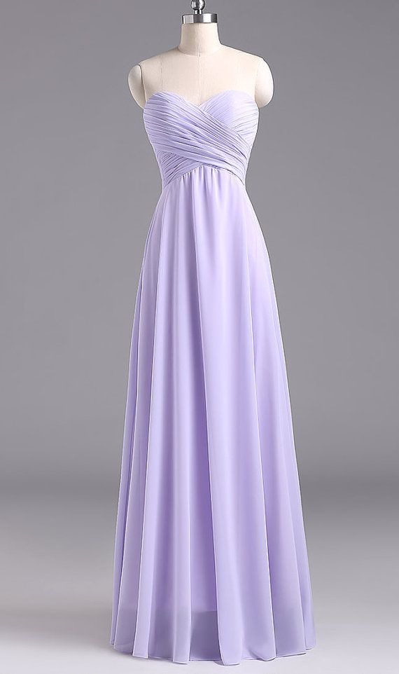 e12f17e2e95 Lavender Chiffon BRIDESMAID Dress