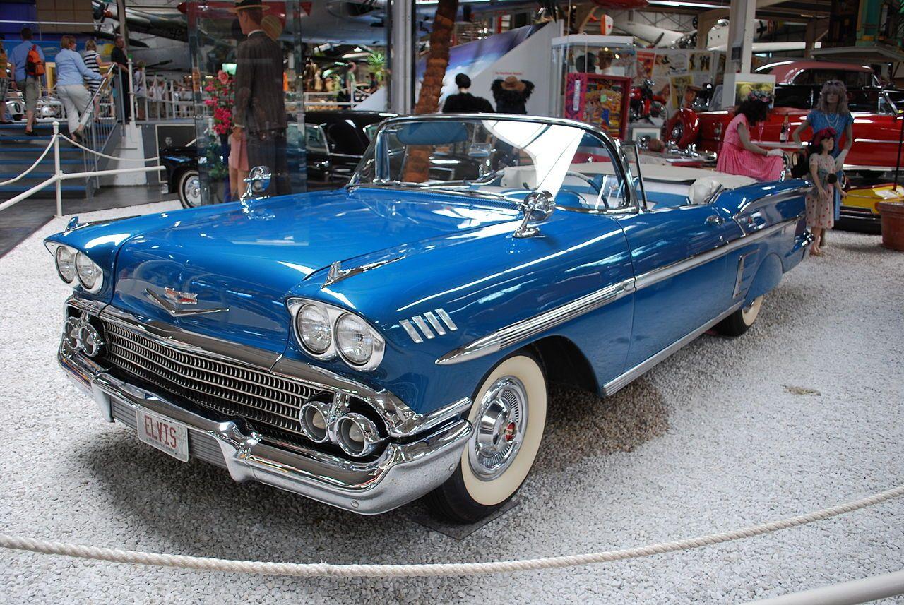 Category Chevrolet Impala 1958 Wikimedia Commons Classic Cars