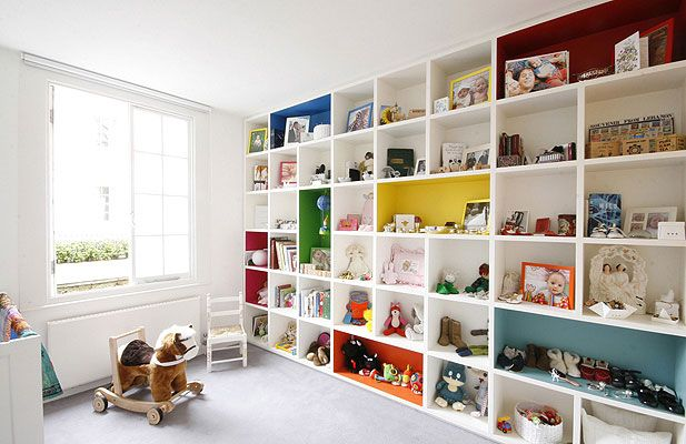 Children bedroom project by Alex Cochrane Architects