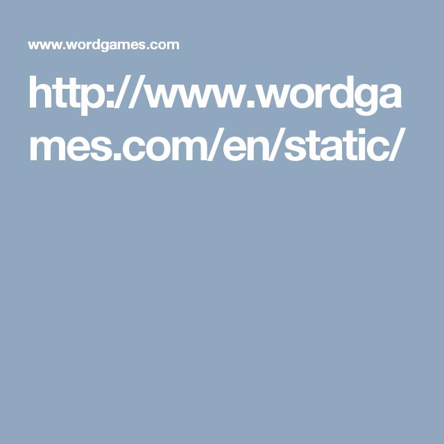 Wordgames com