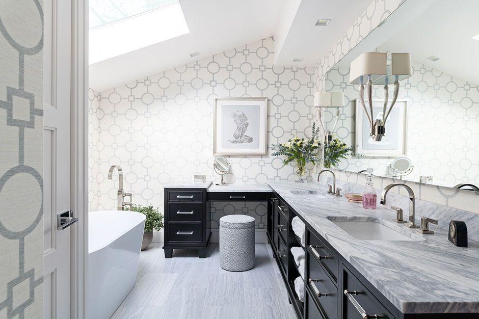 Bathroom Slopedceiling Historic Charm Kitchen Bath Business Kitchen And Bath Design House And Home Magazine Kitchen