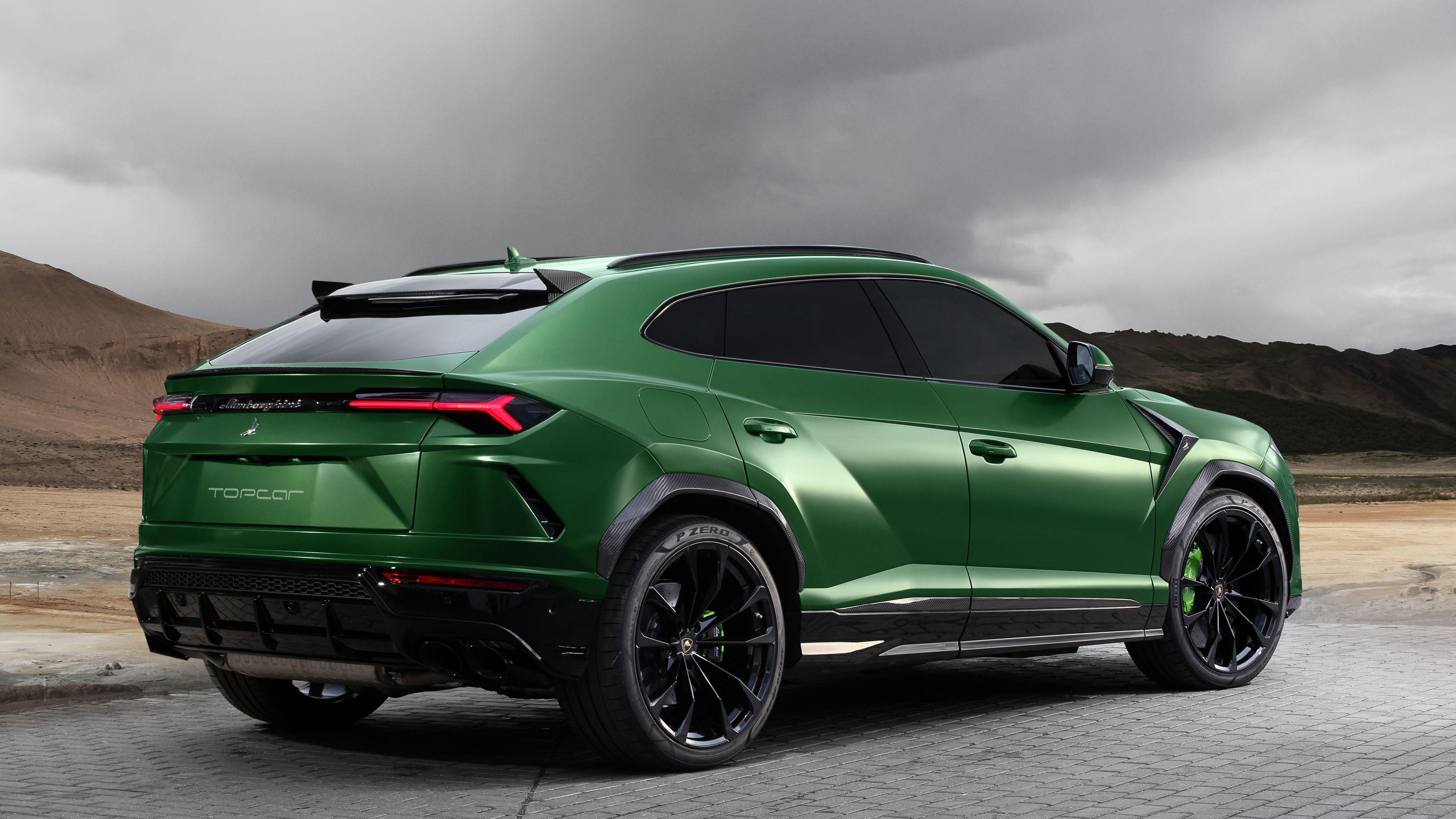 Wallpaper 4k Topcar Lamborghini Urus 2018 Rear 2018 Cars
