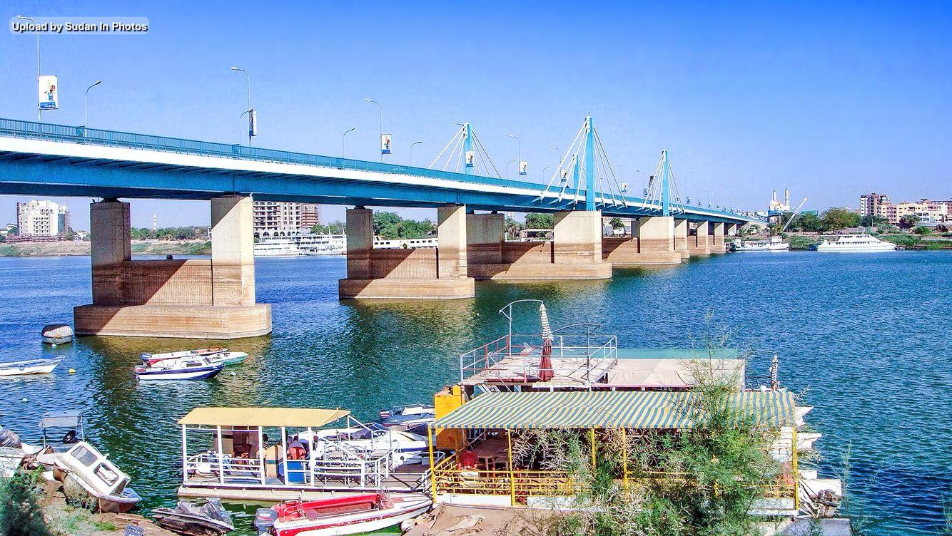 Al Mk Nemer Bridge Khartoum كبرى المك نمر السودان By Adel Elzein Sudan Almknemer Khartoum Bridge Nile Night Shadow Khartoum Sudan