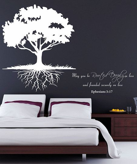 ephesians 3:17 roots wall decal | ephesians | pinterest | wall