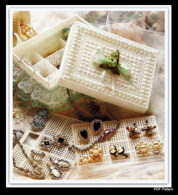 Jewelry Box Pattern Plastic Canvas Pattern PDF 10172530