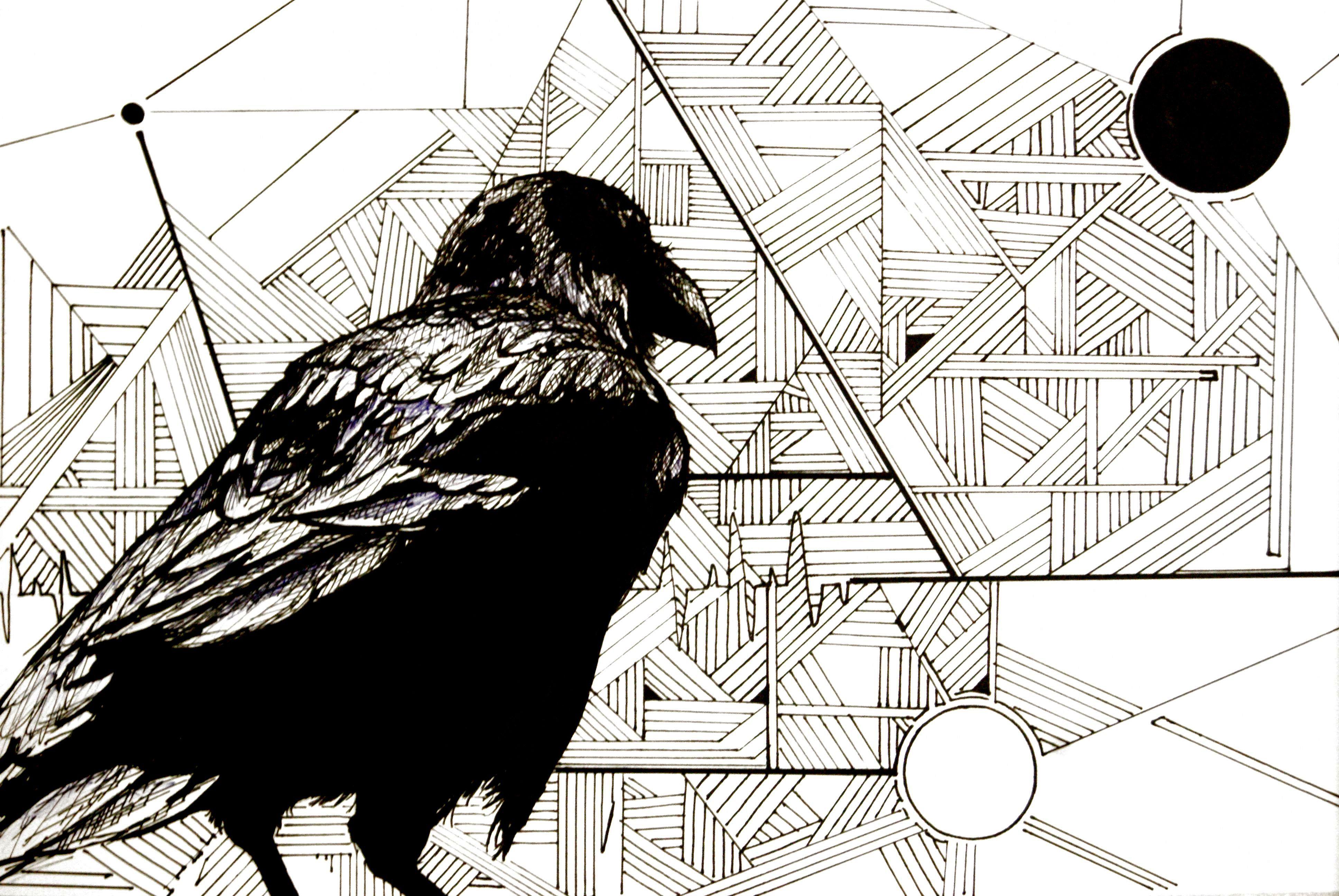 muerte. tinta sobre papel