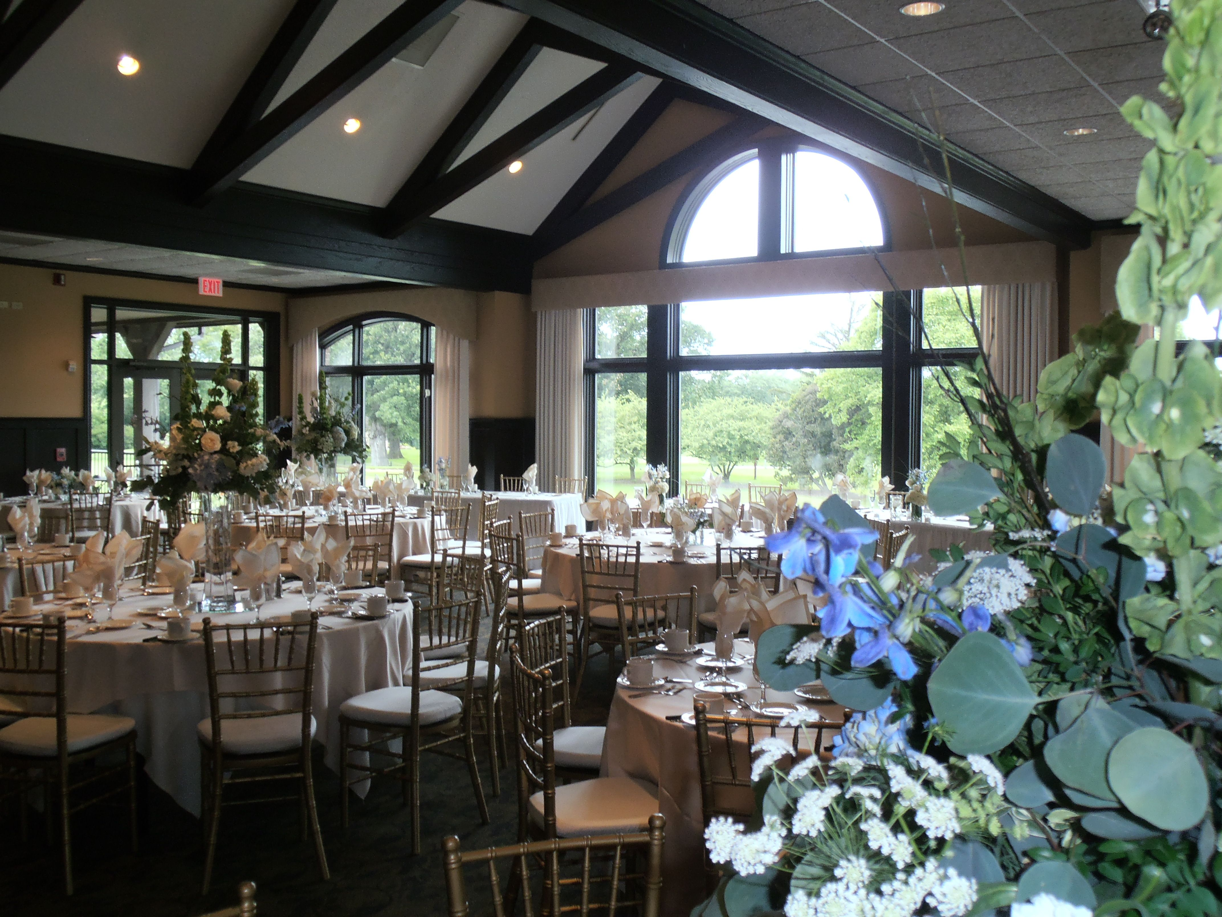 Nice Views At Bartlett Hills For Your Wedding Reception