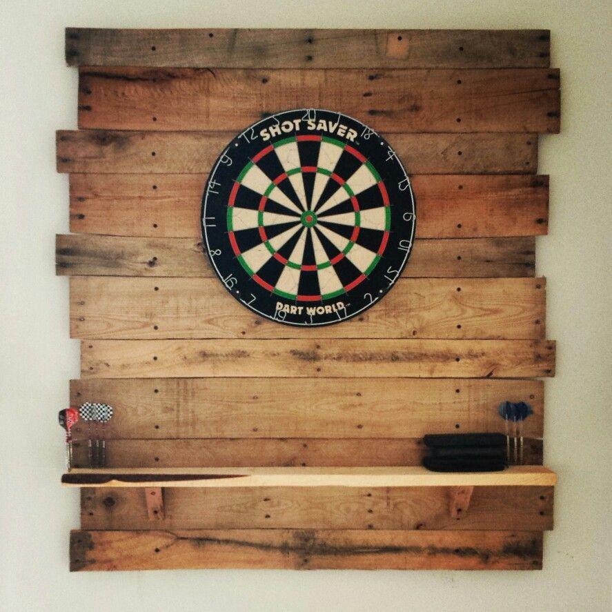Dart Board Backing Pinterest