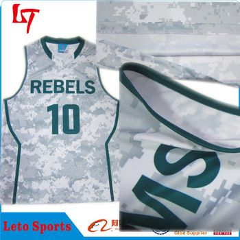 cfd18b6e45a7 custom dye sublimation basketball jersey new style camo basketball jersey  uniform