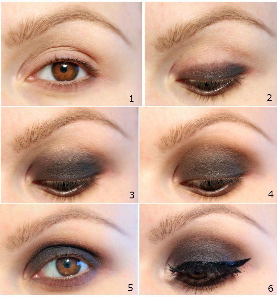 Smokey Eye Makeup Application Smokey Eye Pinterest Makeup