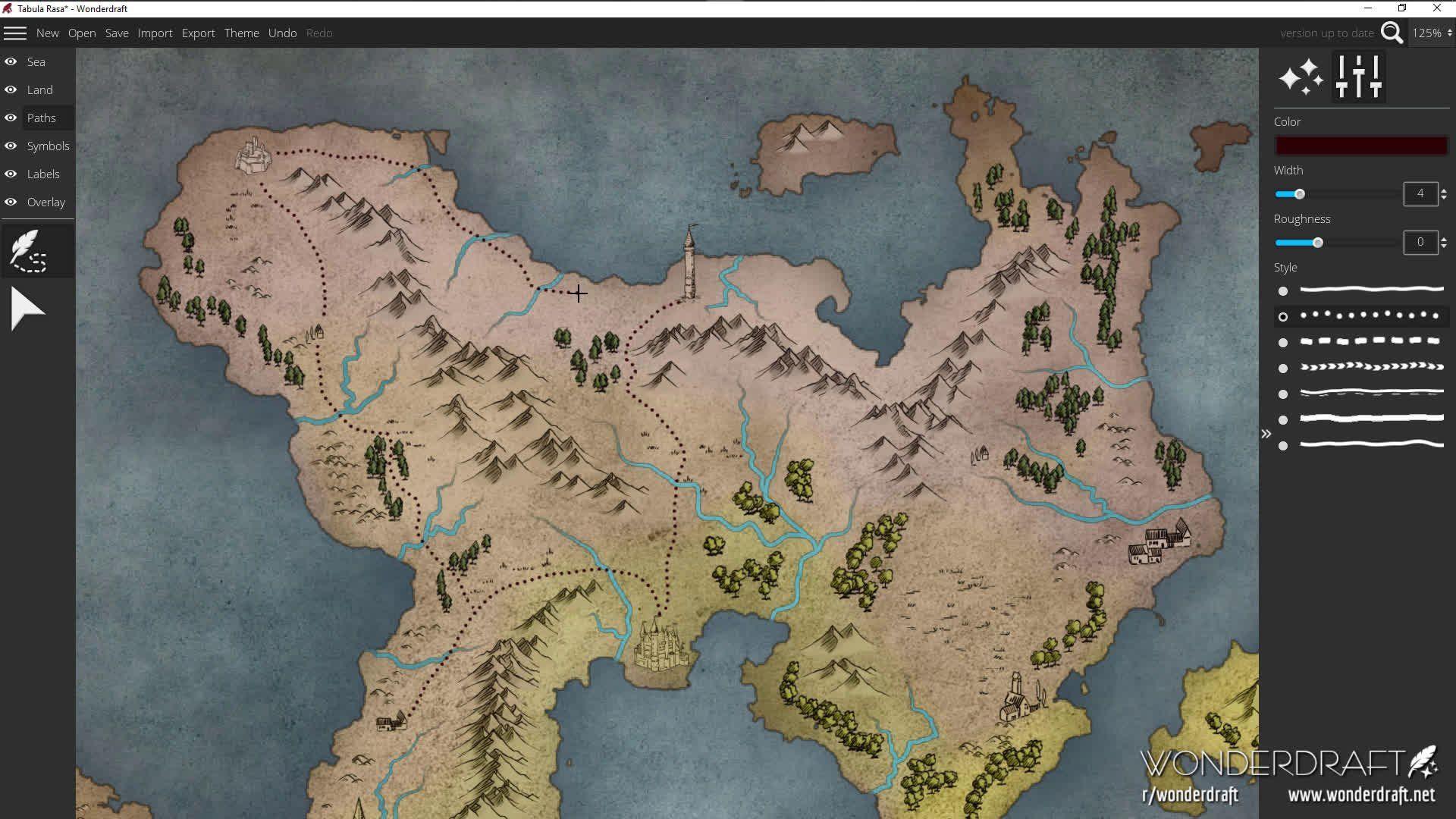 OC] I'm so happy to finally say that Wonderdraft, my new map
