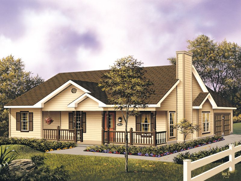 Mayland Country Style Home Country Style House Plans Farmhouse Style House Farmhouse Style House Plans