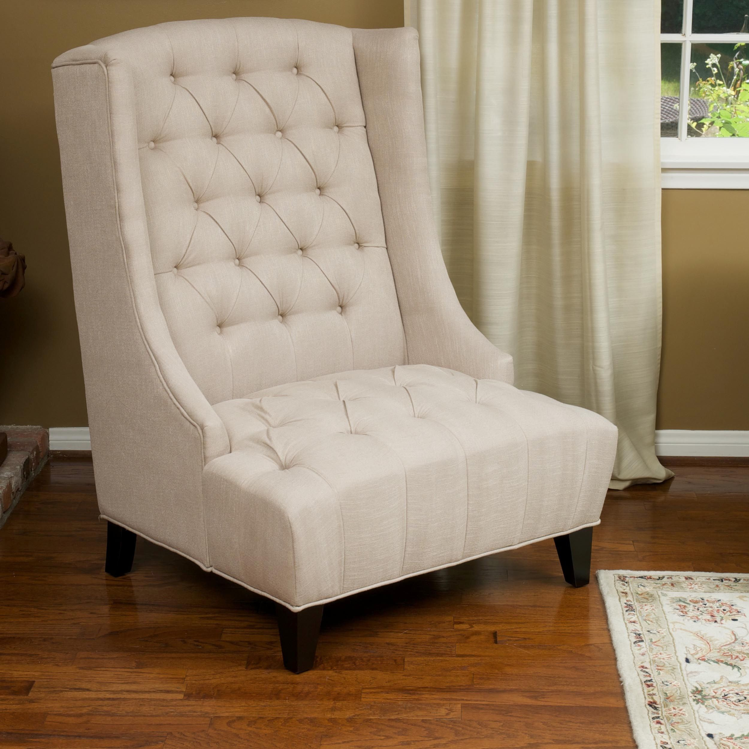 From the well padded tufted back to the wide seat design, the Miles ...