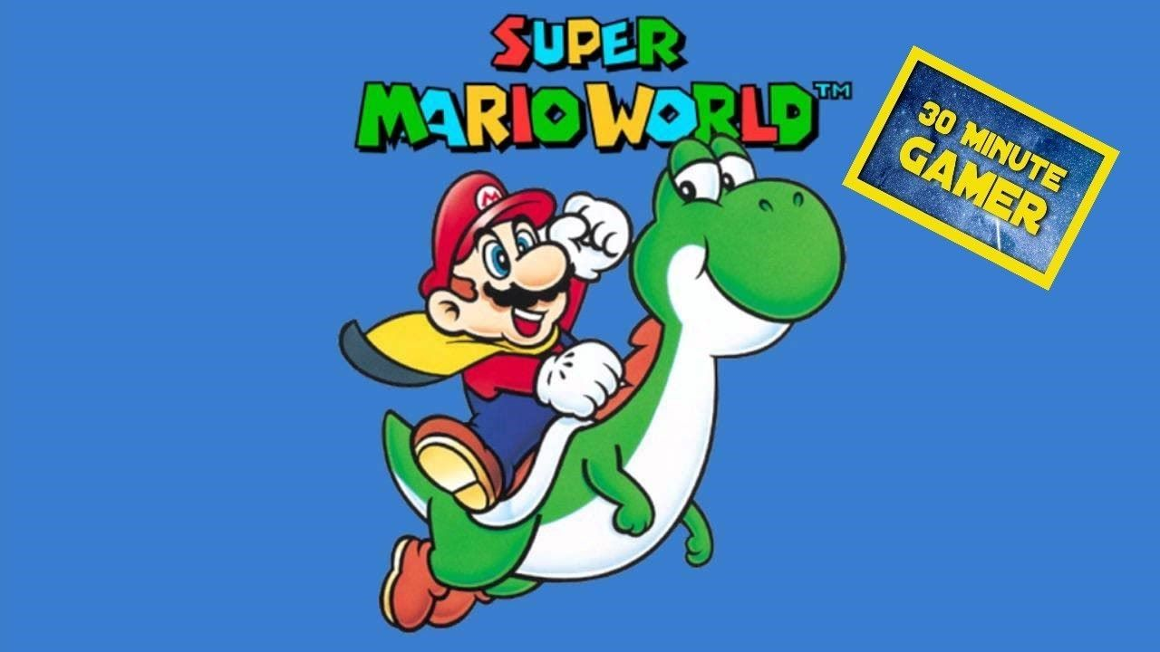 Super Mario World Snes Gameplay Commentary Super Mario World