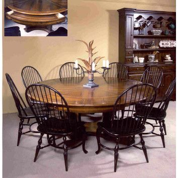 Leda Furniture Nottingham Cottage 9 Piece Dining Set