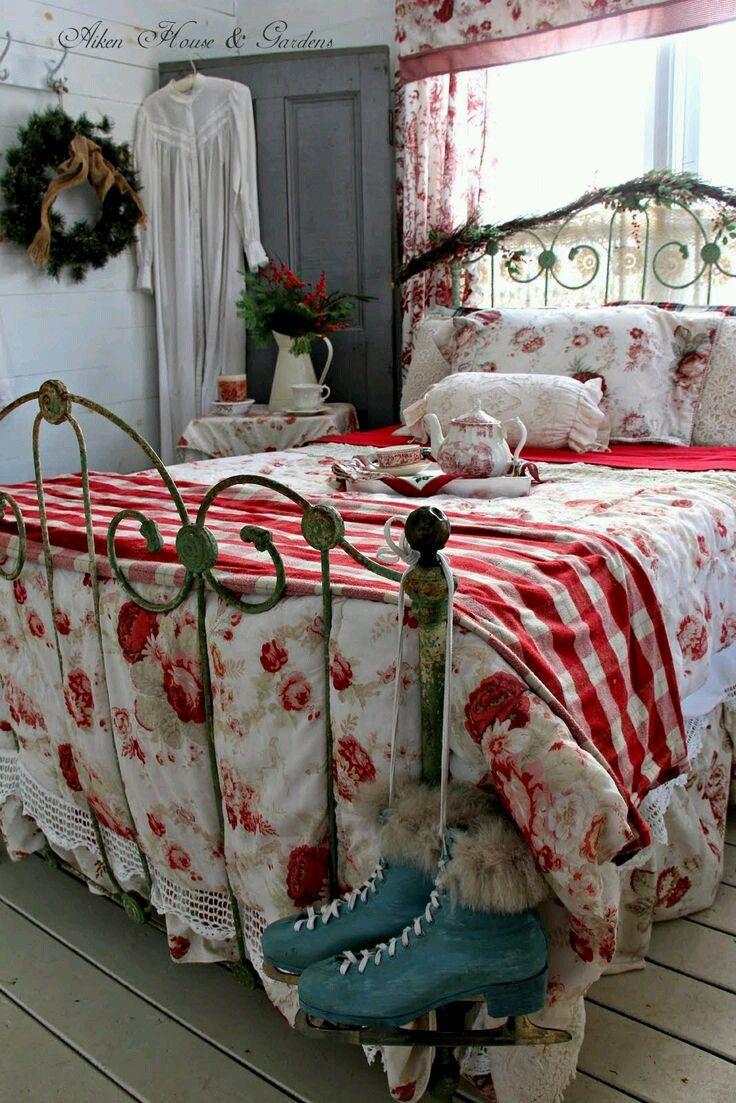 Vintage Bedroom  Sypialnia  Pinterest  Schlafzimmer Haus und Ideen