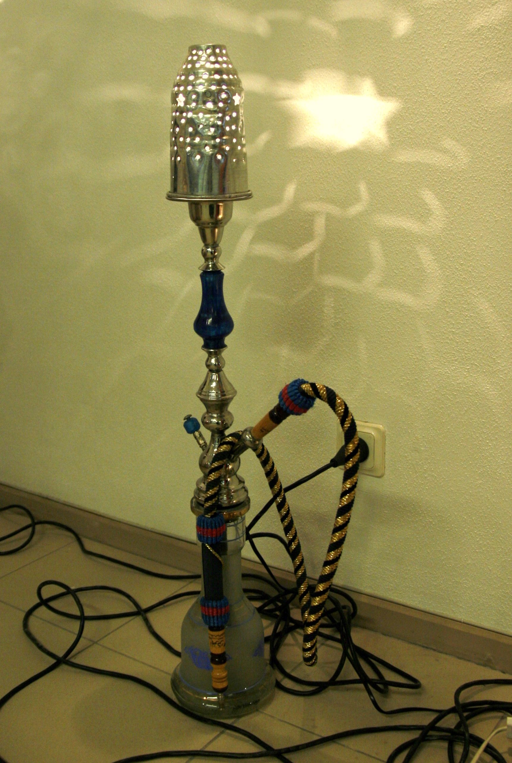 Floor Lamp Hookah Come To Lux Lounge In West Bloomfield Mi To
