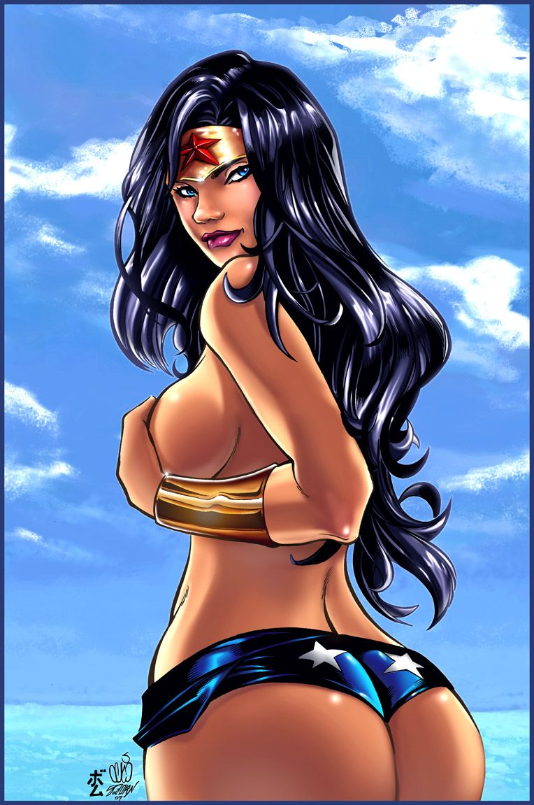Wonder woman is sexy