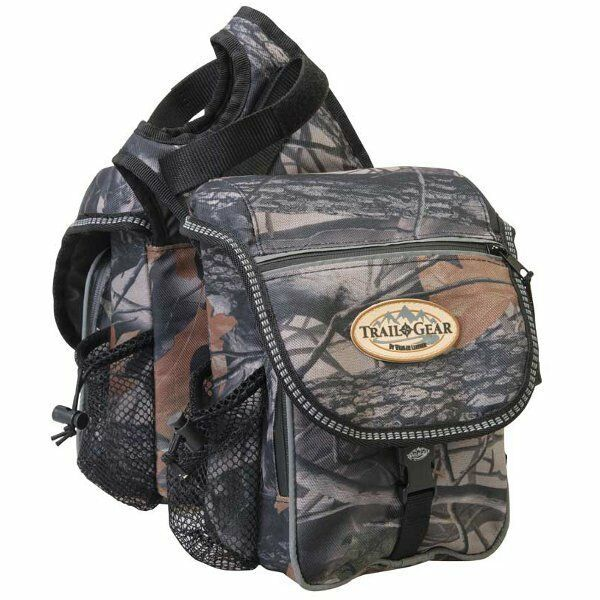 Weaver Leather Trail Gear Saddle Bag Camo Saddle Bags Horse Bags Saddle Bags
