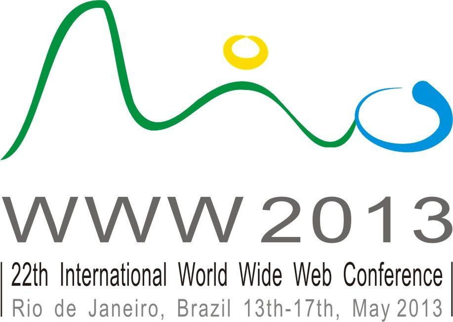 Logo Finalista do Concurso para WWW CONFERENCE RIO 2013