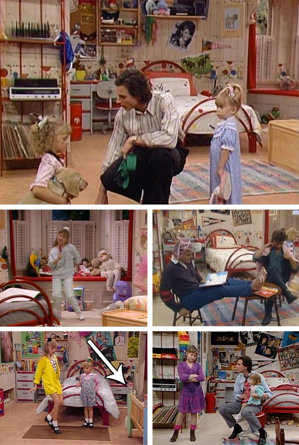 7 Best Bedrooms From Tv Movies Full House Full House Tv Show Full House Memes Full House Characters