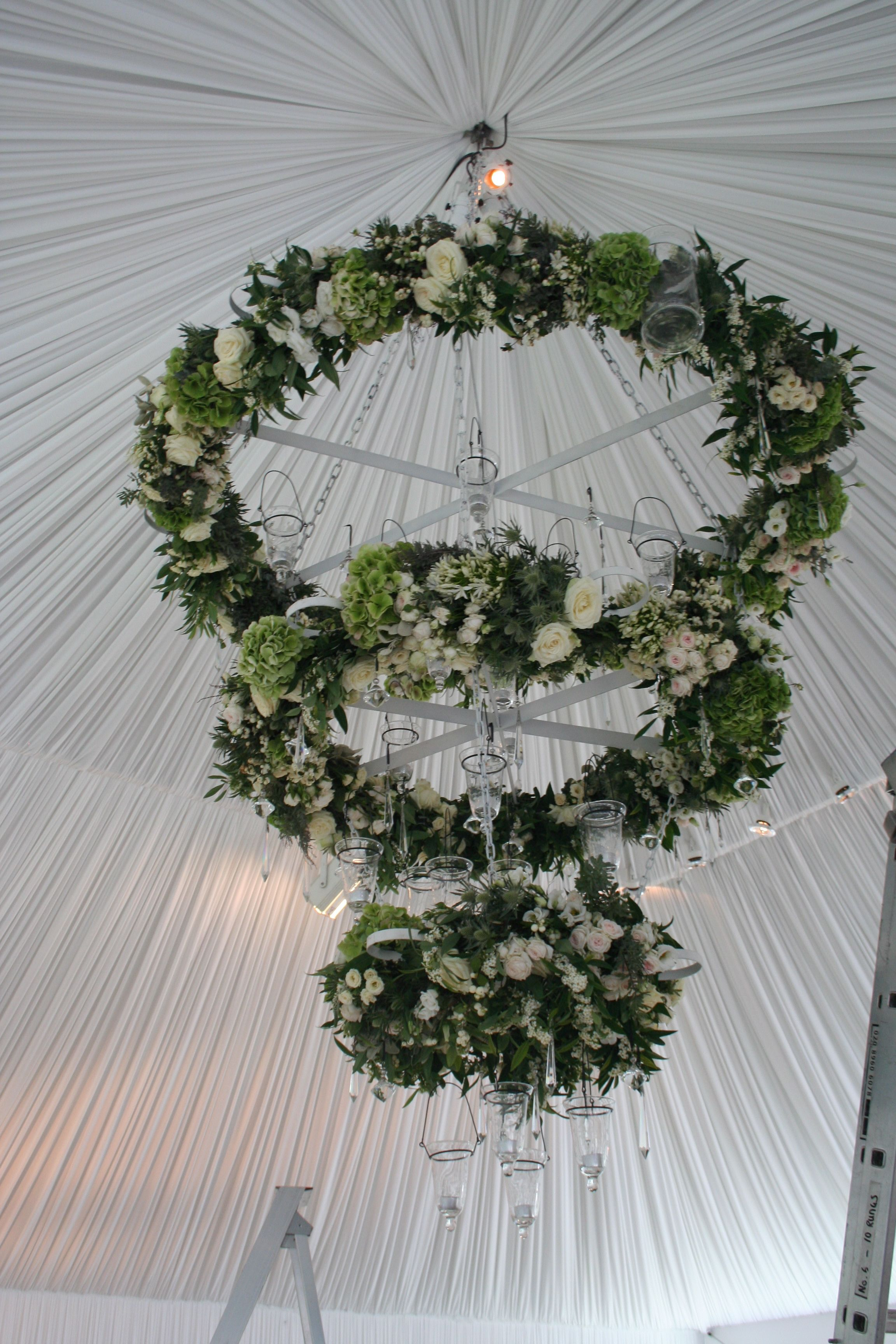 Suspended florals for weddings suspended floral arrangements - Find This Pin And More On Wedding Flowers