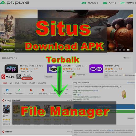 Situs download game dan aplikasi apk terbaik Aplikasi