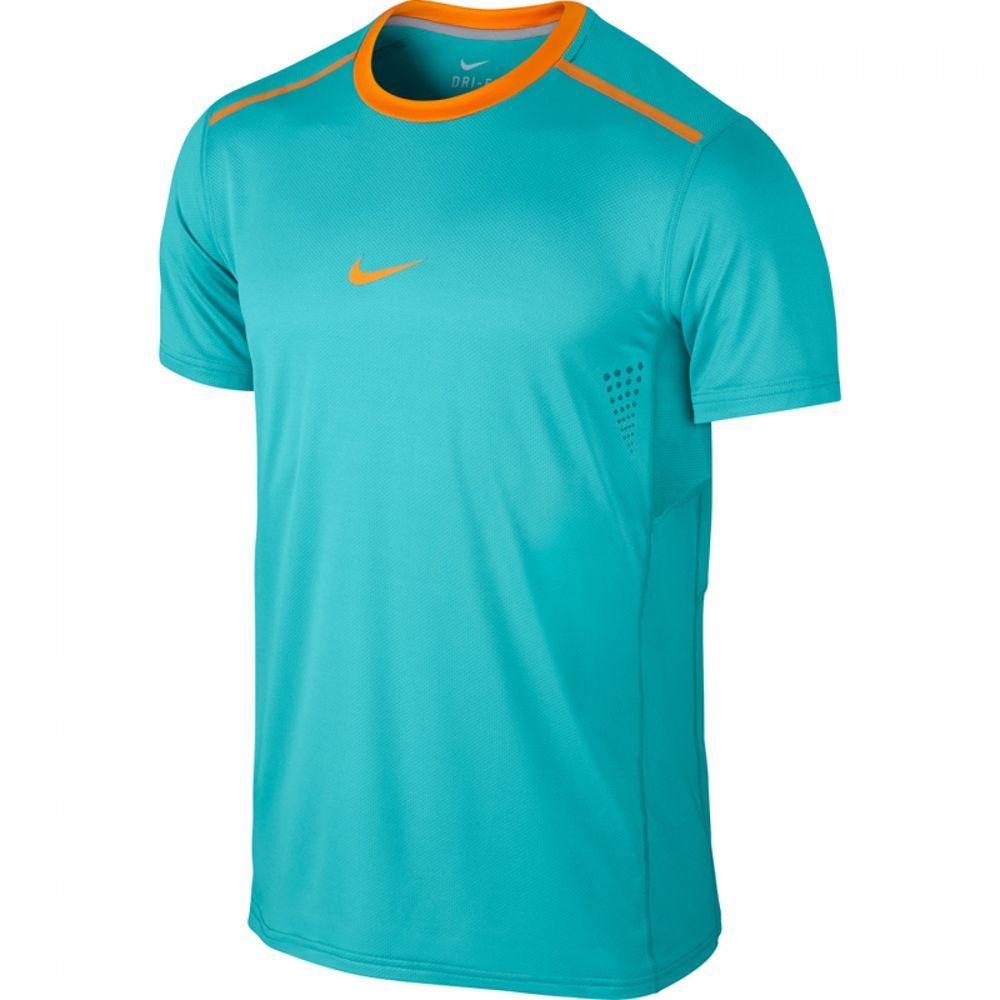 Nike Premier Rafa Crew Mens Dri-FIT Tennis Shirt 2XL Dusty Cactus 621055  388… 8bf95171de334