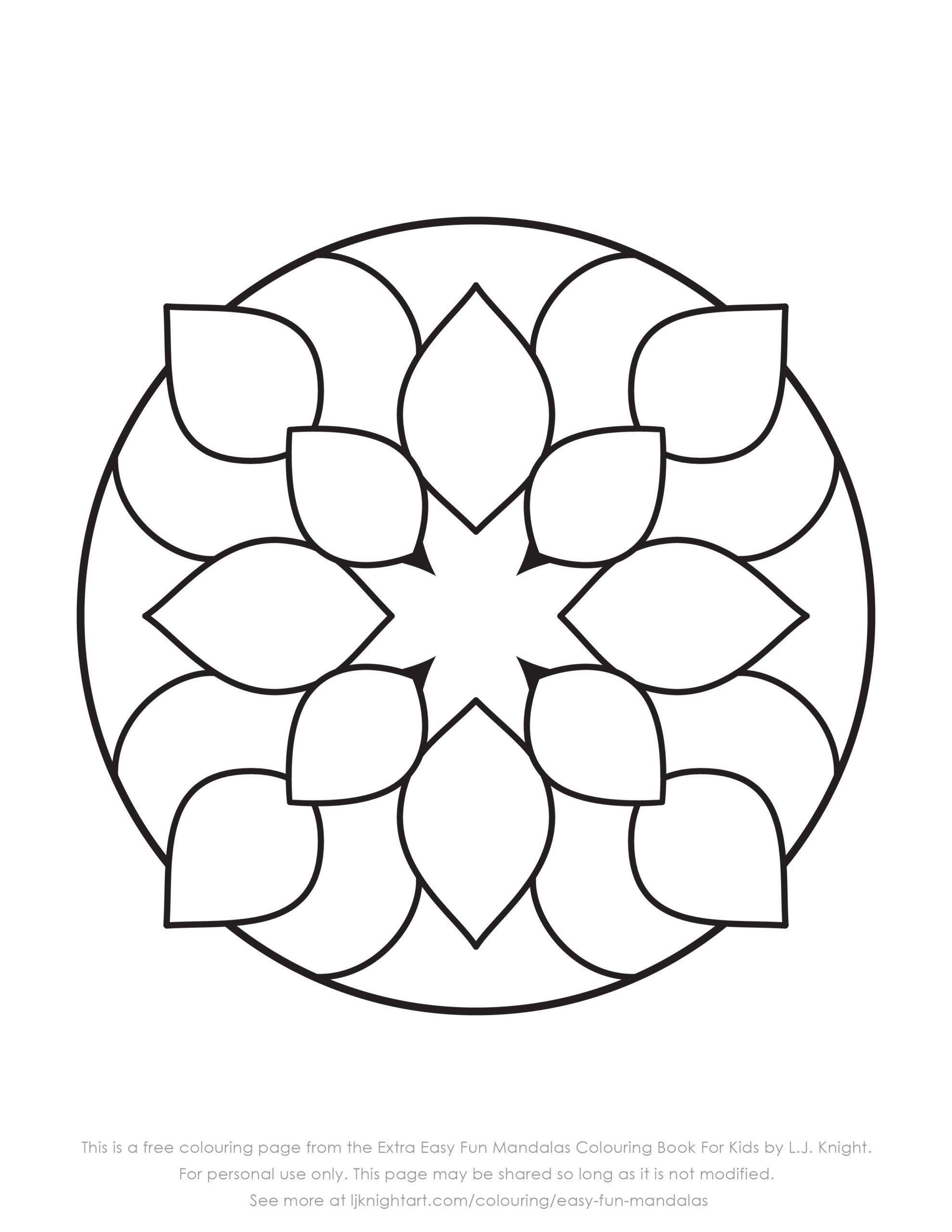 Large Mandala Coloring Pages Page Coloring Advanceddala Coloring