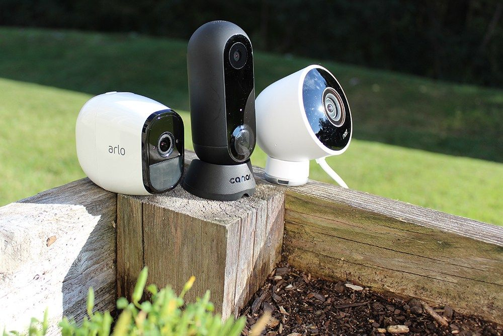 Nest vs Arlo Pro 1 & 2 vs Canary Flex vs Ring Spotlight