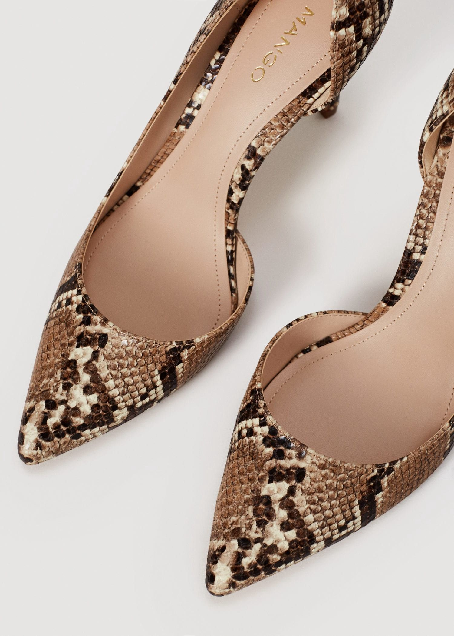 19b135cdc2 Mango Snake-Finish Pumps - 6 | Products | Women's pumps, Heels, Shoes