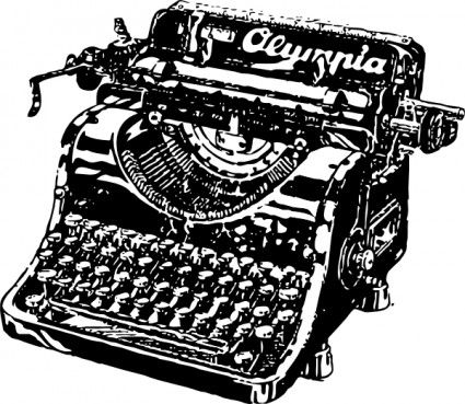 typewriters clip art - Bing Images